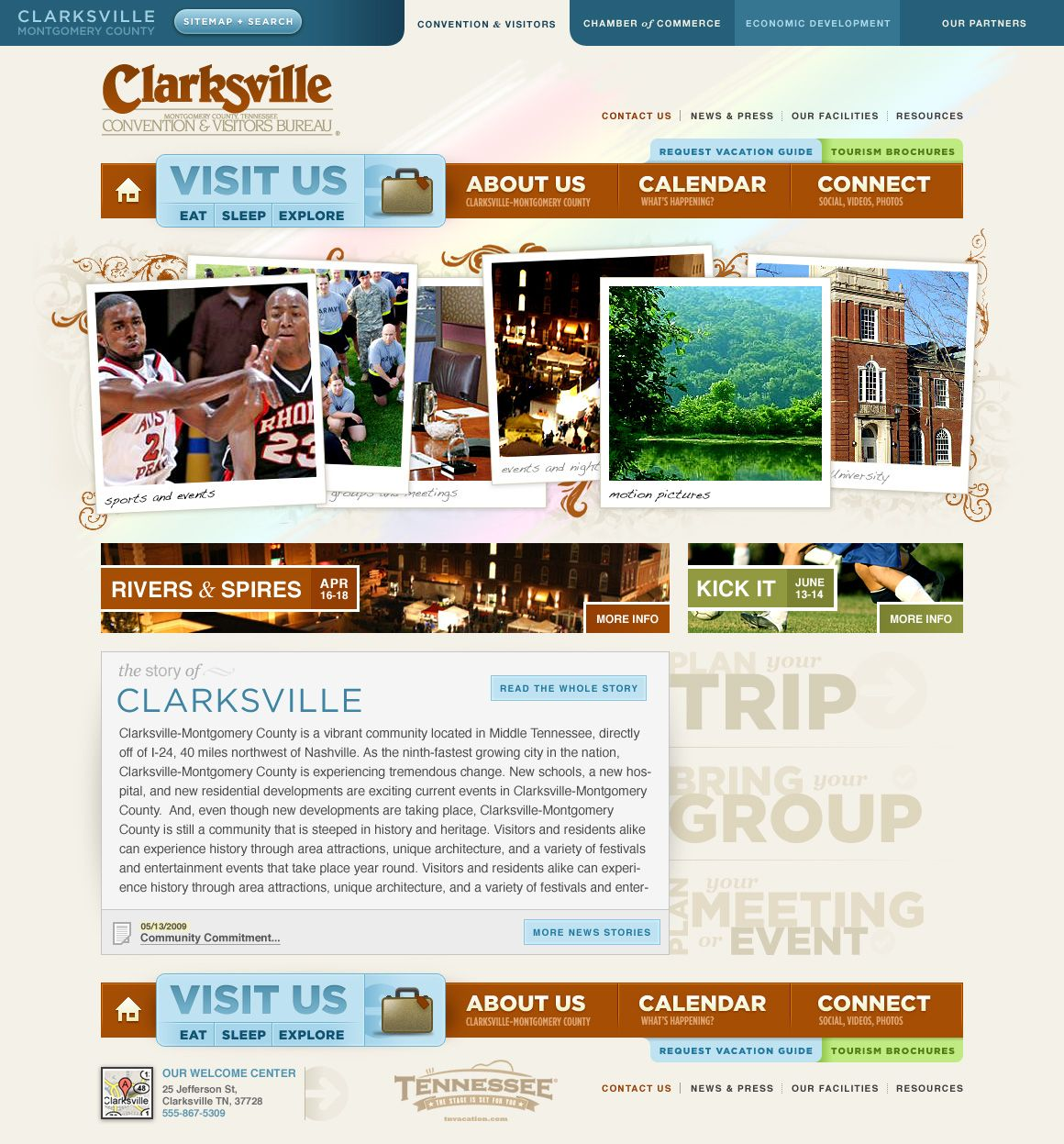 Homepage Design Launched